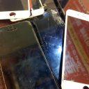 沢山のアイフォン修理