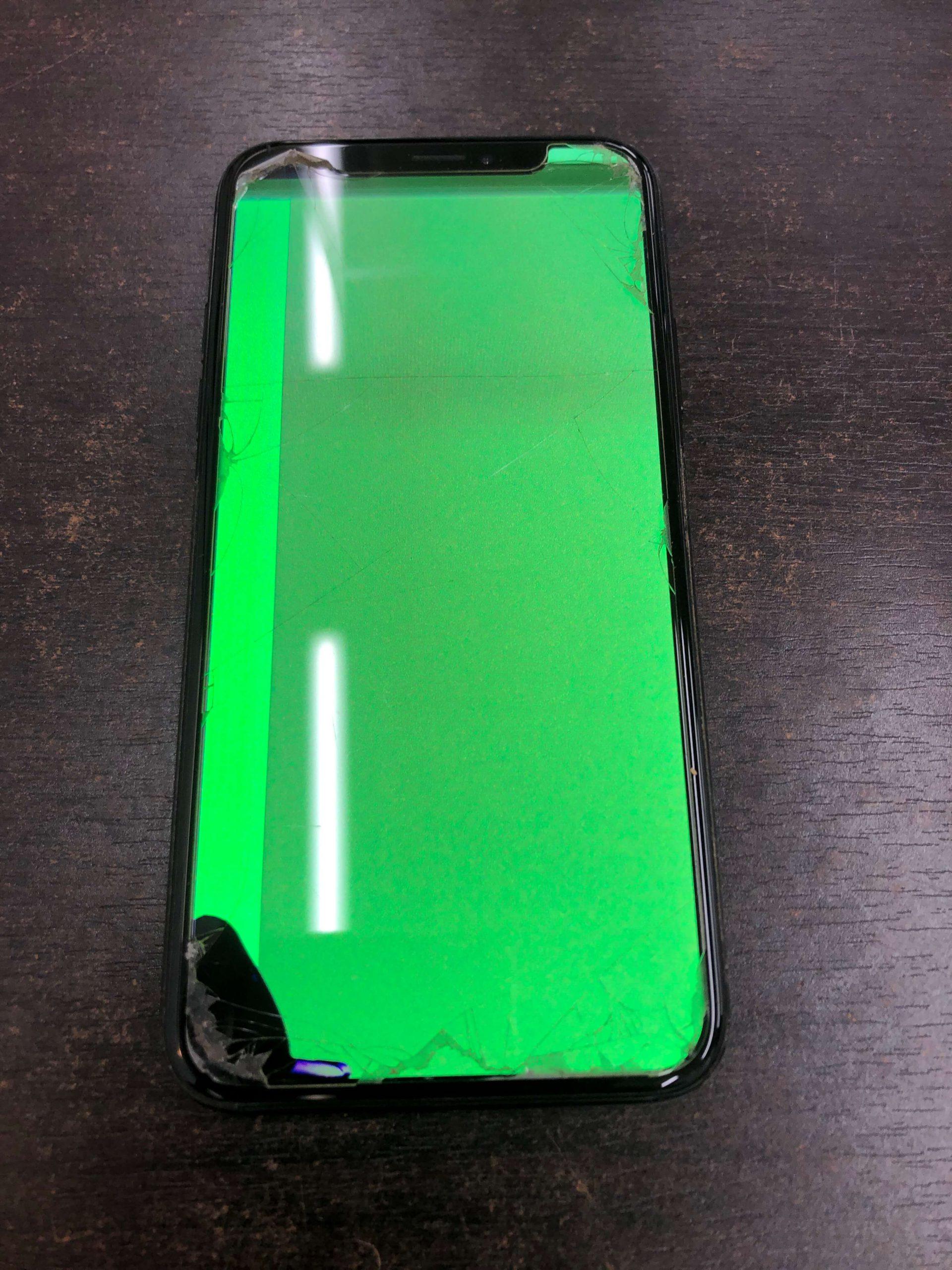 画面ガラス液晶修理