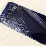 割れたiPhone5