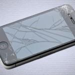 割れたiPhone4s