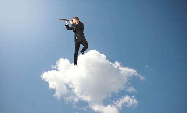 雲の上から探しもの
